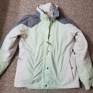 Columbia jacket with liner